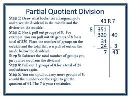 partial quotients easy breezy division lots of freebies