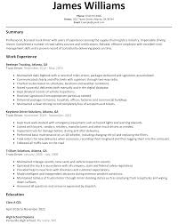 education for a resume truck driver resume sample resumelift com