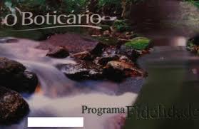 Cartão Fidelidade O Boticário