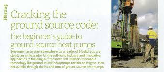 a grass roots guide to ground source kensa heat pumps