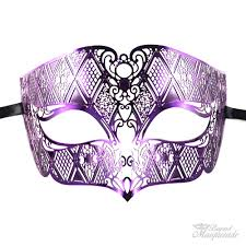 purple mask masquerade masks for prom party masks usa free shipping
