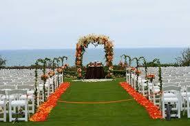 Wedding Arches Inside Beachside Summer Wedding At The Montage Laguna Beach Inside Weddings