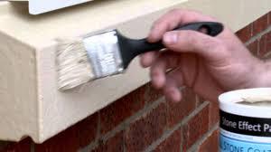 renovate repair and paint your windowsills using stonelux