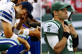 Romo Interception Meme - tony romo mark sanchez among worst nfl week 4 performers photos