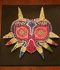 majora u0027s mask string art craft tutorials pinterest string