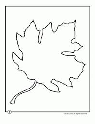 leaf template printables woo jr kids activities