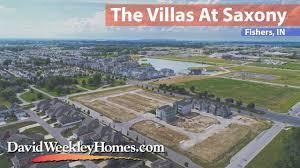 the villas at saxony david weekley homes youtube