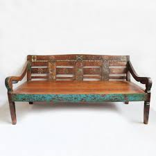 Vintage Style Patio Furniture - beautiful vintage teak daybed imported from java indonesia by