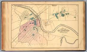 Rutgers Map Old New Brunswick
