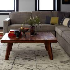 streamline coffee table west elm coffee table west elm