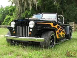 Custom Willys Overland Jeepster Street Rod