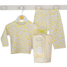 ready to pop baby pyjamas gift box bluebird shop