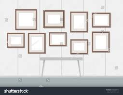 Picture Frame On Wall by Picture Frame On Wall Vector Stock Vector 576883546 Shutterstock
