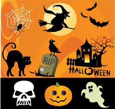 halloween design composition halloween typography halloween logo