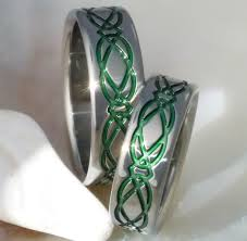 titanium celtic wedding bands 32 superb celtic wedding ring sets eternity jewelry
