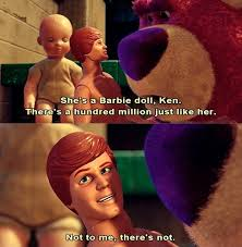 Toystory Memes - ken doll s barbie is his one and only in pixar s toy story 3 picture