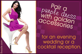 know what to wear with a purple shirt and pull it off with panache