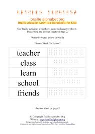 braille worksheets back to braille alphabet org