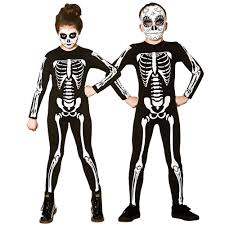 Halloween Skeletons by Skeleton Jumpsuit Girls Boys Halloween Skeletons Fancy Dress