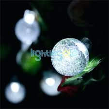 Solar Powered Patio Lights String Outdoor Led Lights Strings Bulb String Garden Bulbs Commercial