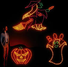 light up window decorations lighted halloween decorations festival collections