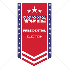 Banners Flags Pennants Us Election Flag Pennant Vector Image 1581667 Stockunlimited