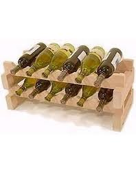 wood wine racks made from pine oak and mahogany