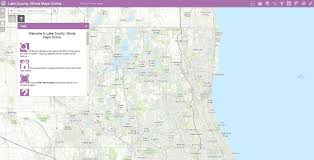 Maps Of Illinois by Maps Lake County Il