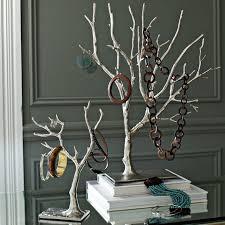 cast metal jewelry tree large west elm
