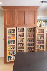 interior of large pantry cabinet eclectic kitchen boston