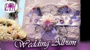 Diy Wedding Photo Album How To Decorate Your Wedding Album D I Y Youtube