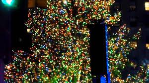 rockefeller center christmas tree lighting in new york 2012 youtube
