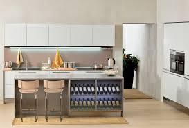 Kitchen  Hidden Refrigerator On Wall Fitted Kitchen Cabinets - Italian kitchen sinks