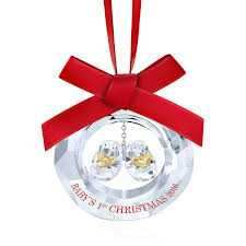 swarovski baby u0027s first christmas 2016 ornament bloomingdale u0027s