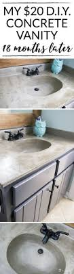 refinish bathroom sink top painted bathroom sink and countertop diy i m flying south featured