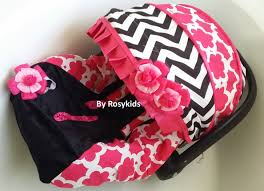 Pink Car Seat Canopy by Pink Baby Car Seat Covers Velcromag