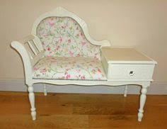 shabby chic telephone table seat ebay decor shabby chic