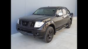nissan australia roadside assistance blacked out nissan navara d40 twin cab diesel ute 2007 youtube