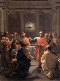 bureau vall馥 vendome the institution of the eucharist jésus instituant l