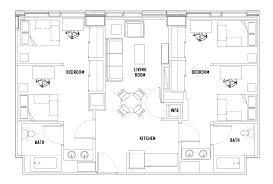 floor plans the summit at university city student housing