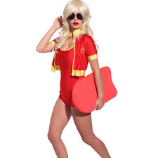 Lifeguard Halloween Costume 80s 90s Guard Rescue Fancy Dress Lifegurad Beach Hen Stag
