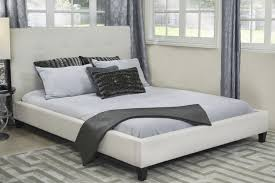 Bed Style by Mid Century Modern Bedroom Design Striped White Black Wall Surface