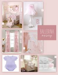Ballerina Nursery Decor A Pink Ballerina Nursery Themed Nursery Nursery Inspiration And