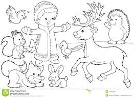 christmas coloring page royalty free stock photos image 14265268