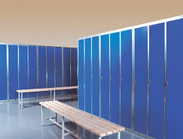 custom locker room benches with storage u2014 railing stairs and