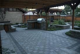 Paver Ideas For Backyard Backyard Patio Pavers Creative Design Barn Patio Ideas