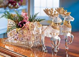 reindeer sleigh centerpiece from collections etc