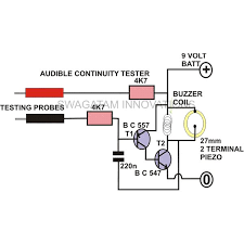 how to make a continuity tester circuit