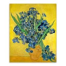 Blue Flower Vases Popular Vases Oil Painting Flowers Blue Buy Cheap Vases Oil