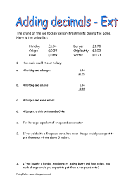 fractions decimals and percentages free resources doingmaths